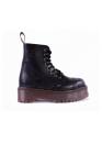 Середні черевики Steel чорні на 8 дірок замовити online