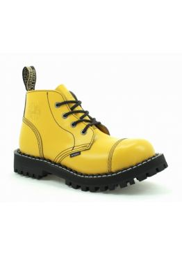 Низькі черевики Steel жовті на 4 дірки 133-134/O/F.YEL