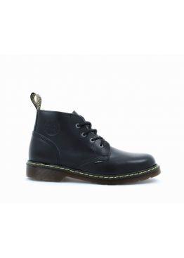 Середні черевики Steel чорні  на 4 дірок 134/KEN/GL/B