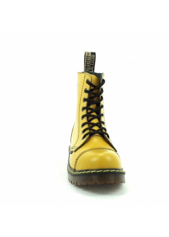 Жовті середні черевики Steel на 8 дірок замовити online