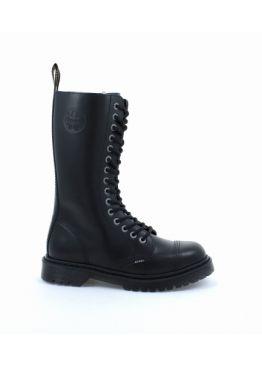 Високі черевики Steel чорні на 15 дірок 135/AL-CZ/Z/B