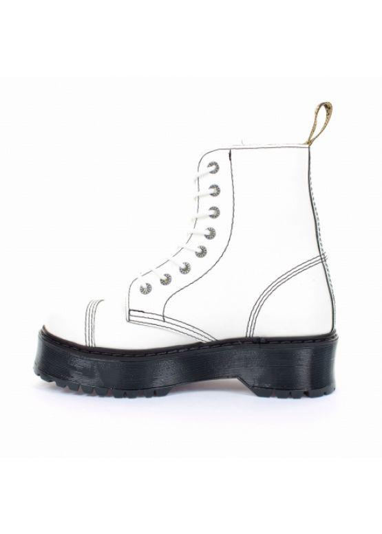 Середні черевики Steel білі на 8 дірок 113/ALS-CZ3/F.WHT замовити online