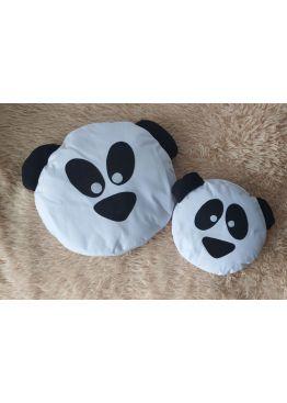 Подушка смайлик, подушка- панда,  ручна робота