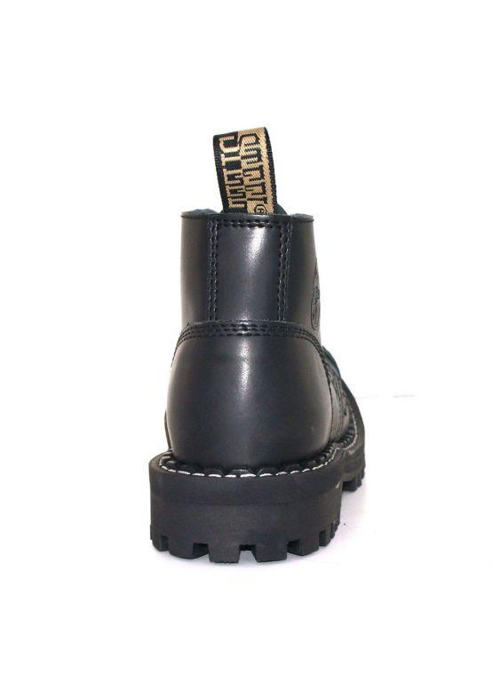 Низькі черевики Steel чорні на 4 дірки замовити online