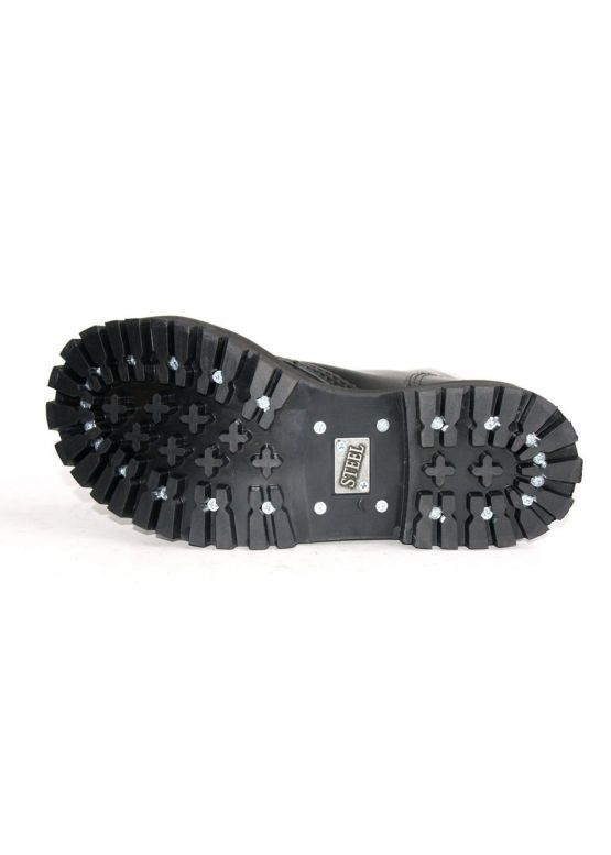 Высокие ботинки Steel черные 10 дырок 105-106/O/B заказать online