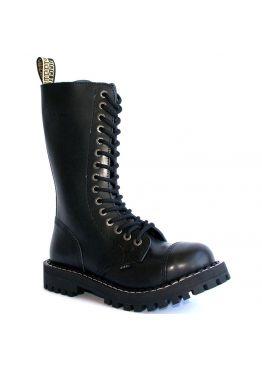 Высокие ботинки Steel черные 15 дырок 135-136/O/Z/B