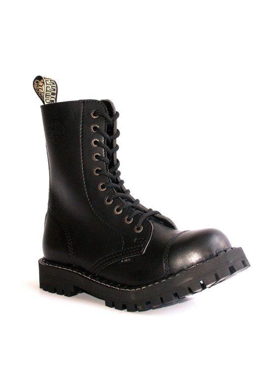 Высокие ботинки Steel черные 10 дырок 105-106/O/400 VEGAN заказать online