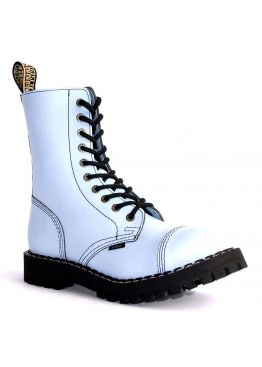 Высокие ботинки Steel голубые 10 дырок 105/106/O/F.JEA