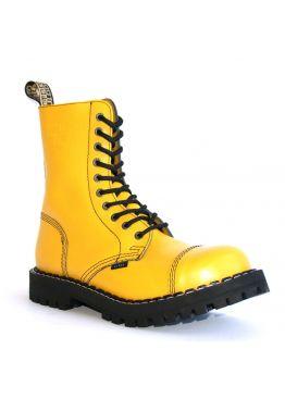 Высокие ботинки Steel желтые 10 дырок 105/106/O/F.YEL