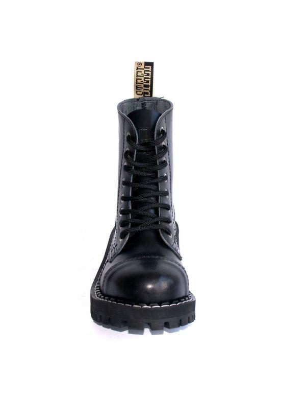 Средние ботинки Steel черные 8 дырок 113/114/O/B заказать online
