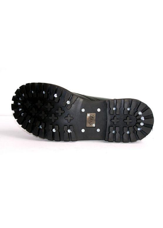 Середні черевики Steel зелені з ефектом затертості на 8 дірок замовити online