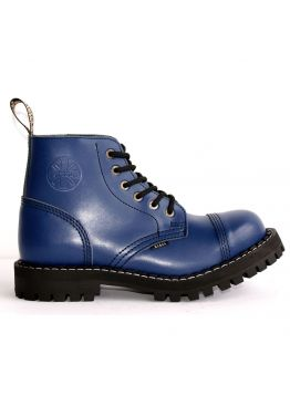 Середні черевики Steel сині на 6 дірок
