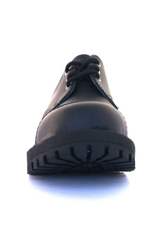 Низькі напівчеревики Steel чорні на 3 дірки замовити online