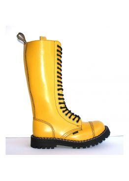 Высокие ботинки Steel желтые 20 дырок 139/140/O/F.YEL