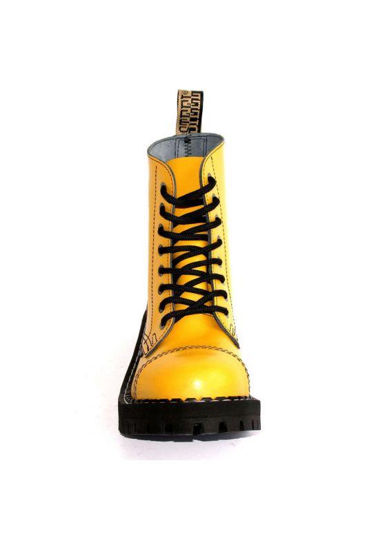 Середні черевики Steel жовті на 8 дірок замовити online