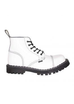 Средние ботинки Steel белые 6 дырок 127-128/O/FULL WHITE