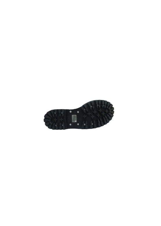 Високі черевики Steel чорні з хрестом на 15 дірок замовити online